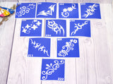 buy temporary tattoo stencils Kit #42 Tracery