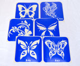 buy temporary tattoo stencils Kit #19 Butterflies 3