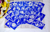 buy temporary tattoo stencils Kit #20 Flowers