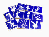 buy temporary tattoo stencils Kit #22 Rabbits