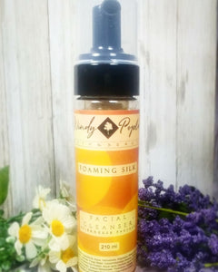 Foaming Silk Facial Cleanser