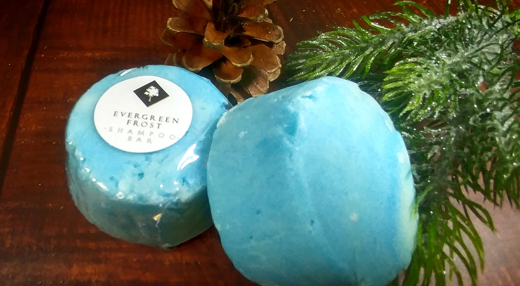 Evergreen Frost Shampoo Bar