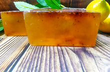 Load image into Gallery viewer, Lemon Tea Tree Soap