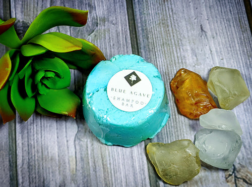 Blue Agave Shampoo Bar