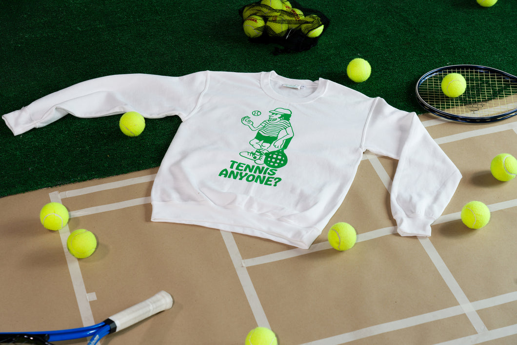 Tennis Anyone? Crewneck Sweatshirt