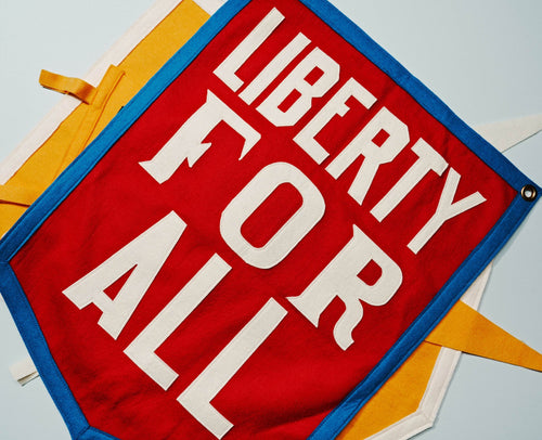 Liberty For All Camp Flag
