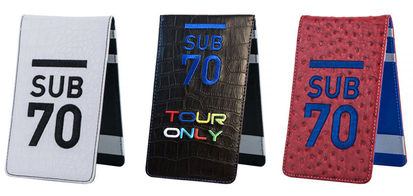 Sub70 Scorecard Golf Holder