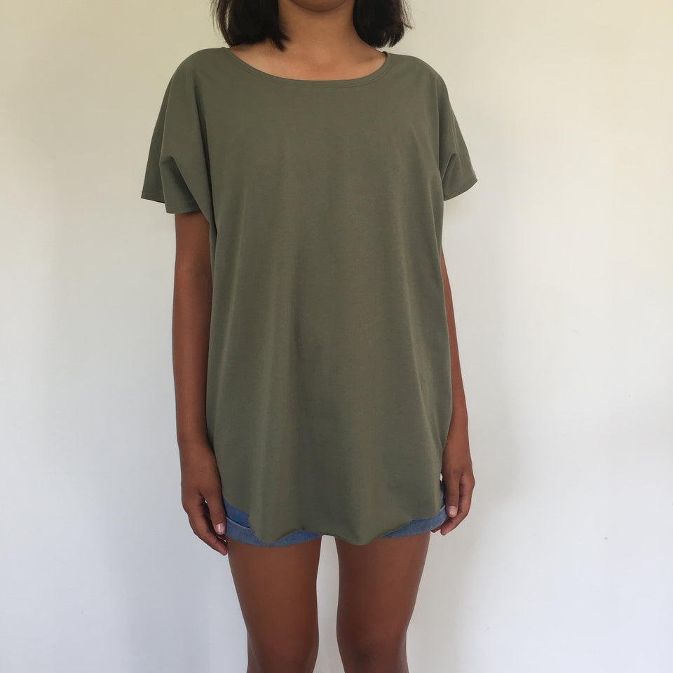 CIRCLE TEE  + SHALE GREEN DAUGHTERS TEE (CHILDRENS SIZE)