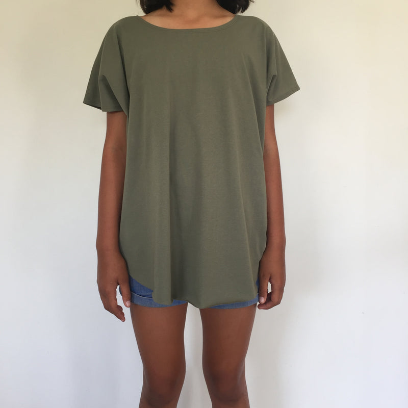 circle tee  + shale green (childrens size)