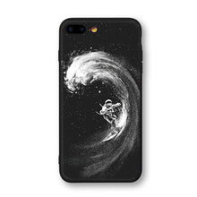 Load image into Gallery viewer, Space Moon Astronaut Phone Cases For iPhone 6, 7, 8, X