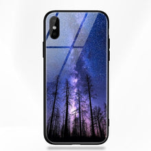 Load image into Gallery viewer, iPhone X Space Glass Case