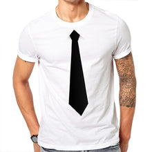 Load image into Gallery viewer, Men's T-Shirt Funny Tie