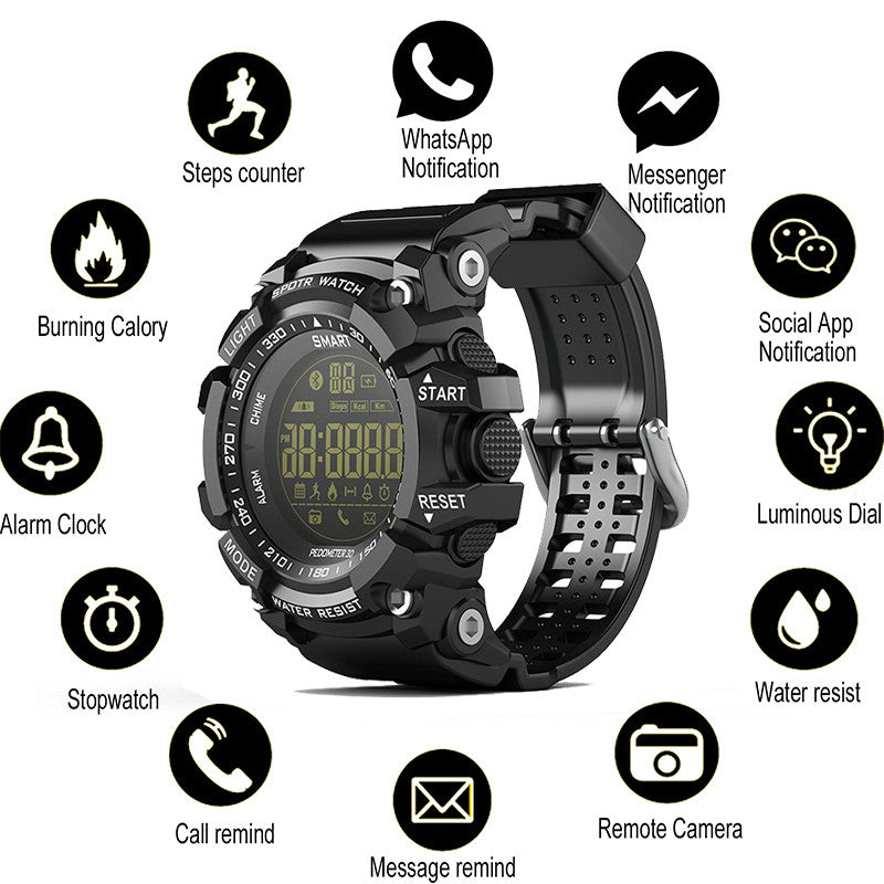 Bluetooth Waterproof Men's Sports Watch