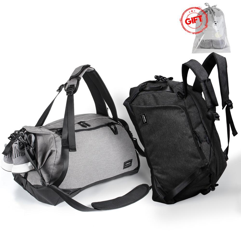 Sport Waterproof Gym Bag with Shoes Compartment
