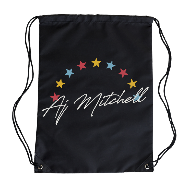 Star Drawstring Bag