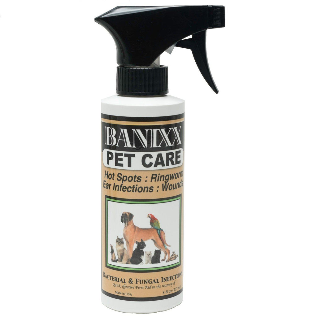 Banixx Pet Care Bacterial & Fungal Infections Spray 8 oz. - Piccardmeds4pets.com