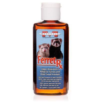 Ferret and Small Animal Rx Upper Respiratory Relief Colds Remedy 2 oz. - Piccardmeds4pets.com