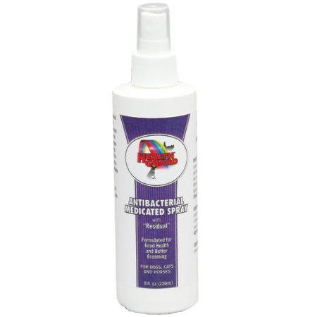 HealthGuard Antibacterial Medicated Spray for Dogs and Cats 8 oz. - Piccardmeds4pets.com