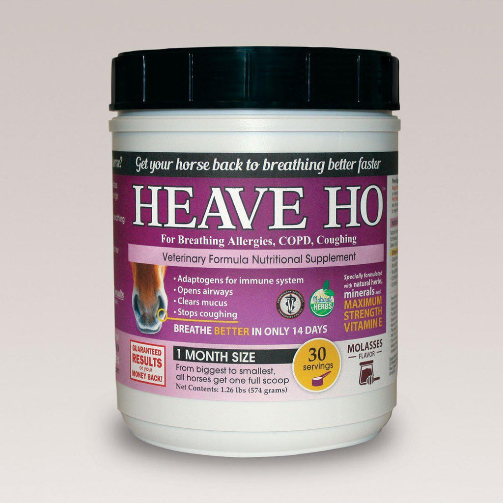 Heave Ho Equine Horse for Heaves Supplement 30 Servings Molasses - Piccardmeds4pets.com