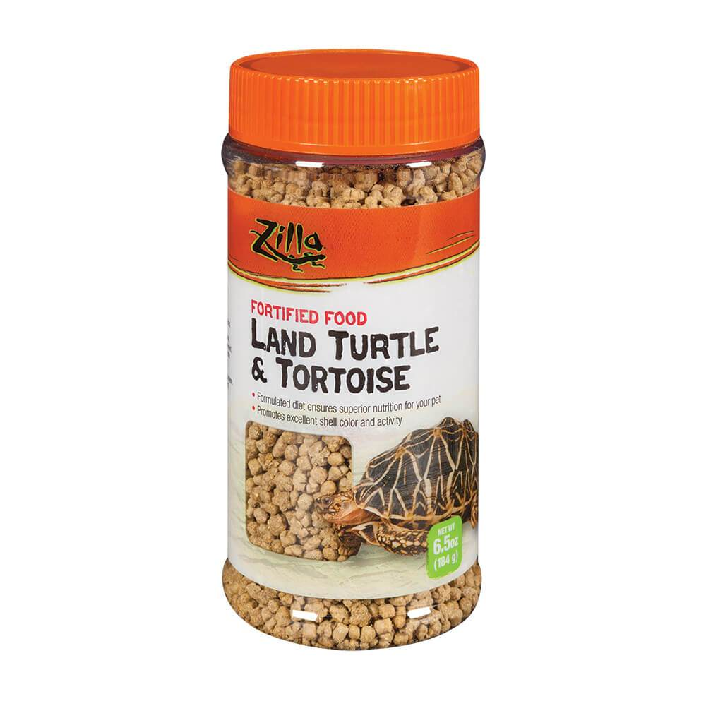 Land Turtle and Tortoise Extruded Pet Food Pellets 6.5 oz. - Piccardmeds4pets.com