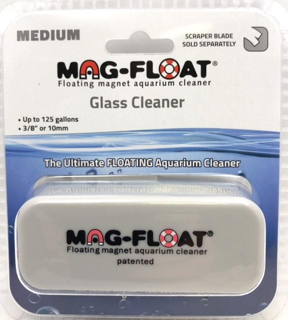 Mag-Float Ultimate Floating Magnet Aquarium Glass Cleaner Med Up To 125 Gallons - Piccardmeds4pets.com