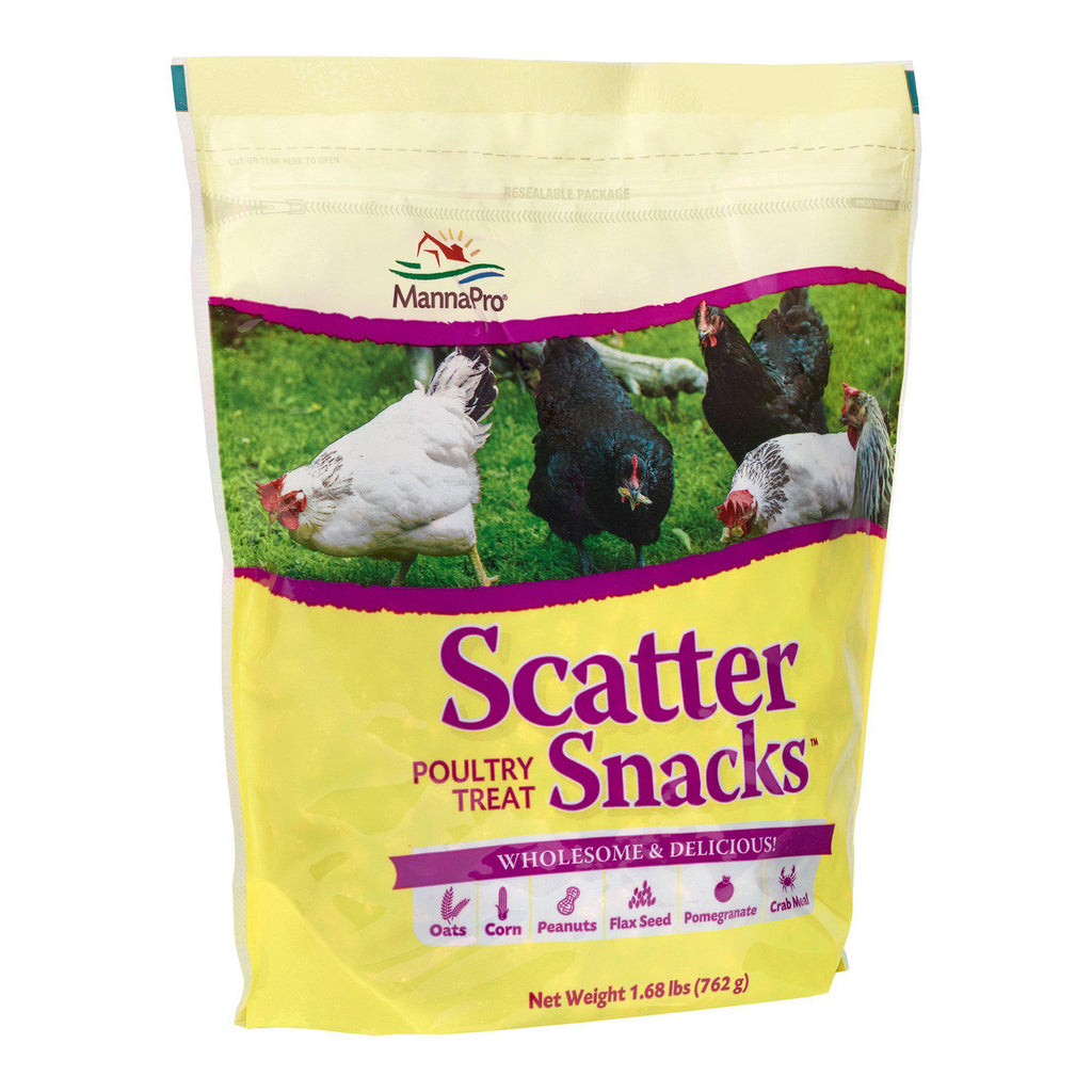 Manna Pro Scatter Snacks Poultry Treat Wholesome & Delicious 1.68 lbs. - Piccardmeds4pets.com