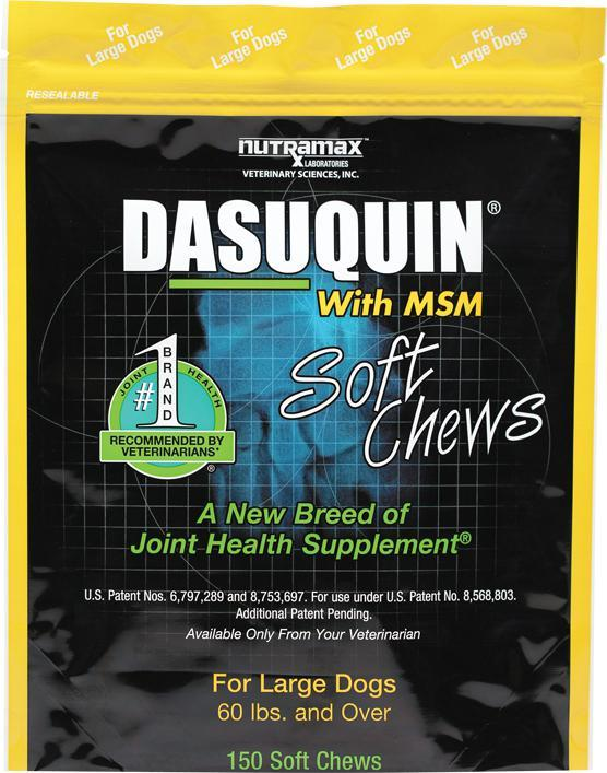Nutramax Dasuquin 150 Soft Chews With MSM Large Dogs Joint Health Supplement - Piccardmeds4pets.com
