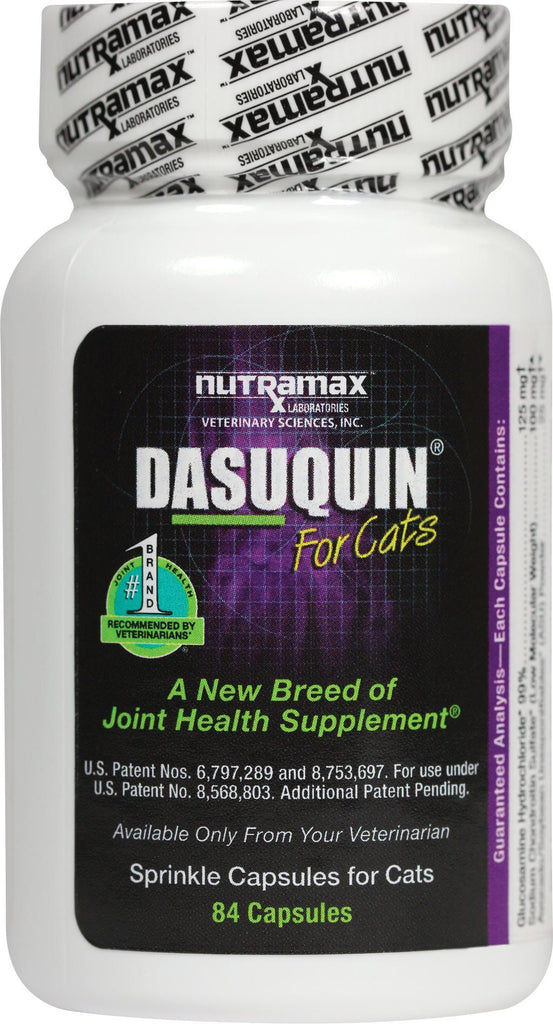 Nutramax Dasuquin Pet Joint Health Supplement Cats 84 Capsules - Piccardmeds4pets.com