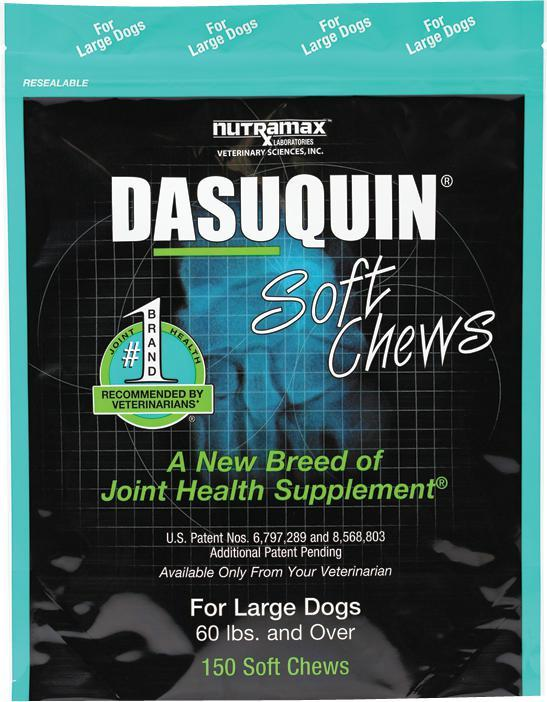 Nutramax Dasuquin Soft Chews for Large Dogs Joint Health Supplement 150CT - Piccardmeds4pets.com