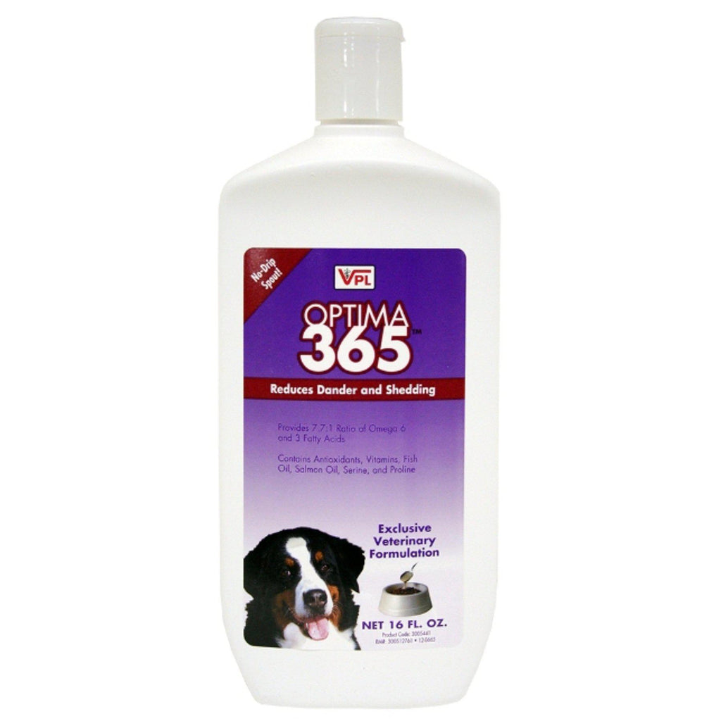 Optima 365 Skin & Coat Enhancer for Dogs Reduce Shedding & Dander 16 oz. - Piccardmeds4pets.com