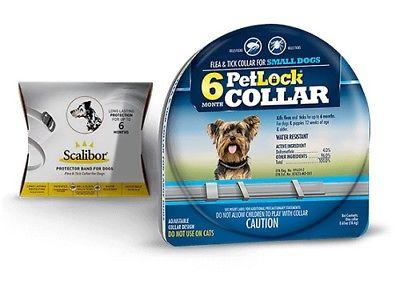 PetLock Flea & Tick Collar Small Dogs 6 Months Protection Compares to Scalibor - Piccardmeds4pets.com