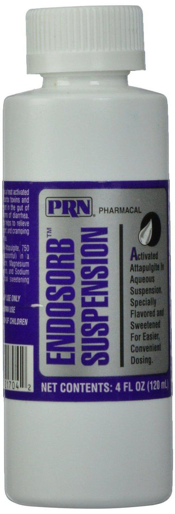 PRN Endosorb Suspension Liquid for Fast Relief of Pet Diarrhea Dogs Cats 4 oz. - Piccardmeds4pets.com