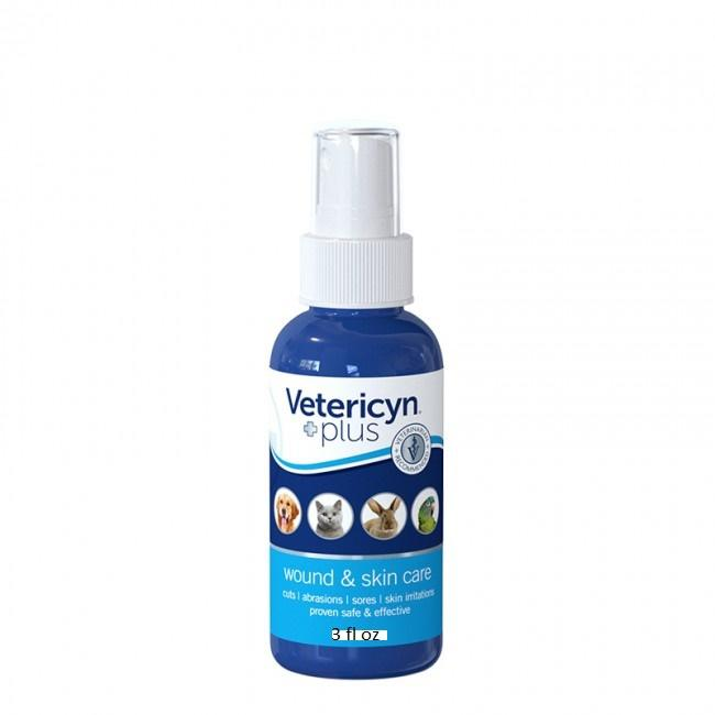 Vetericyn Plus All Animal Wound & Skin Care Pets Cuts Abrasions 3 oz. - Piccardmeds4pets.com