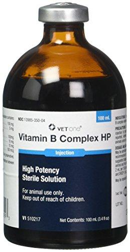 VetOne Vitamin B Complex HP For Cattle, Sheep & Swine - Piccardmeds4pets.com