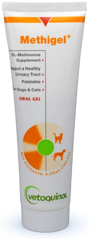 Vetoquinol Methigel Urinary Track Acidifier Oral Gel for Dogs & Cats 4.25 oz. - Piccardmeds4pets.com