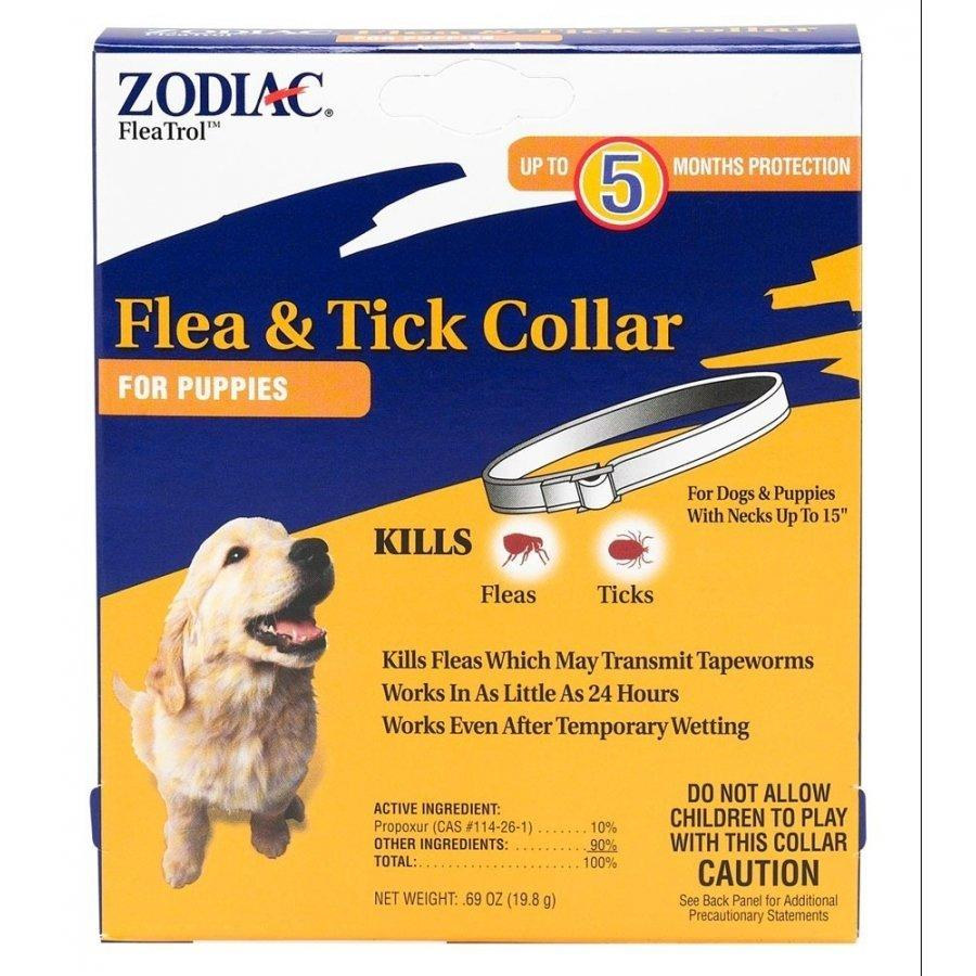 Zodiac Pet Flea & Tick Collar For Dogs & Puppies Safe & Effective - Piccardmeds4pets.com