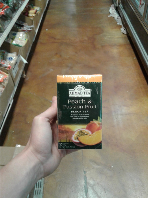 Ahmad Tea Peach and Passion Fruit - Eastside Asian Market