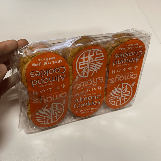 Amay Almond Cookie, 24pc - Eastside Asian Market