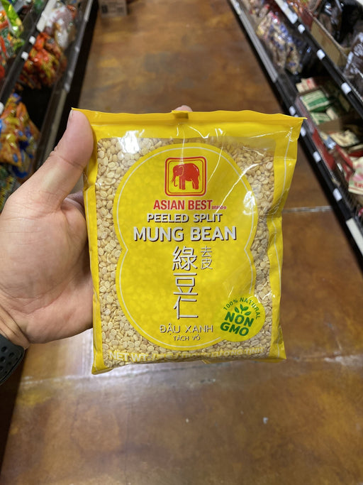 Asian Best Peeled Split Mung Bean, 14oz - Eastside Asian Market