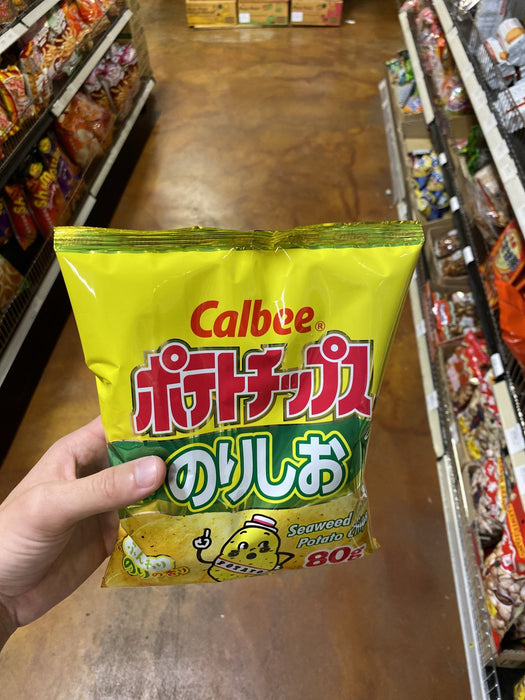 Calbee Potato Chips Salt and Seaweed - Eastside Asian Market