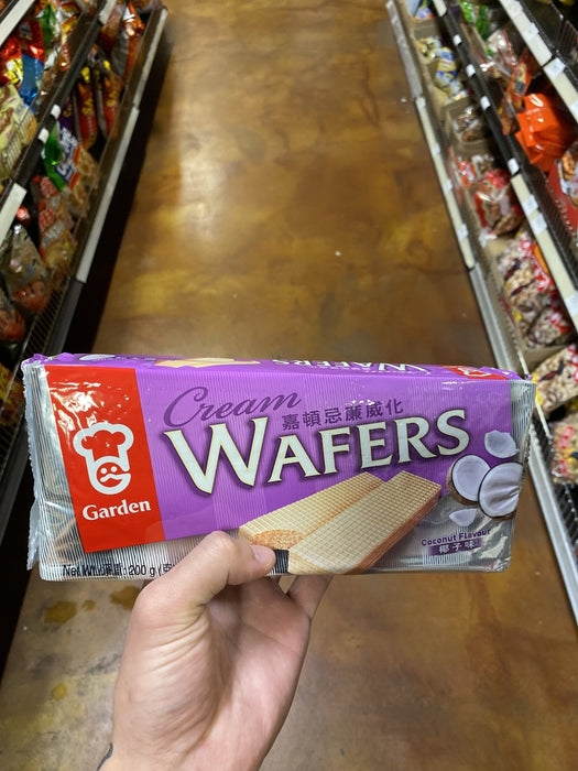 Garden Coconut Wafer Bag - Eastside Asian Market