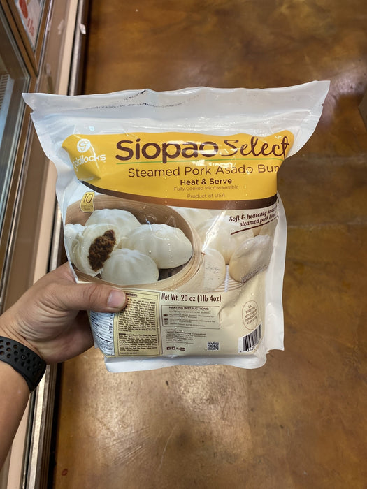 Goldilocks Pork Siopao - Small - Eastside Asian Market