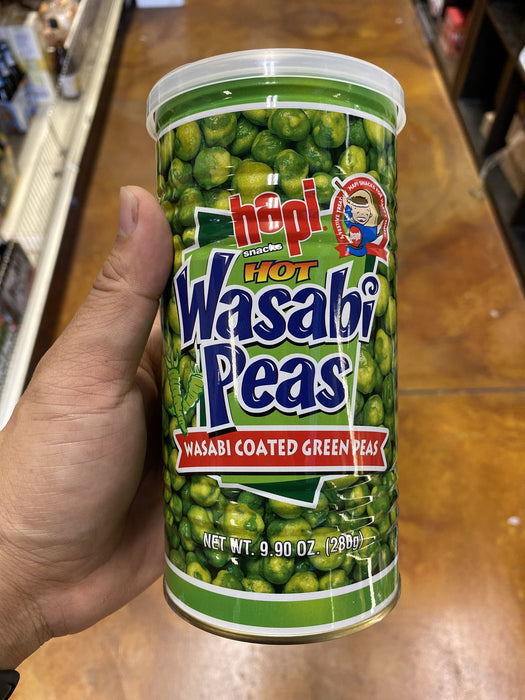 Hapi wasabi green peas-Hot-Can 9.9oz - Eastside Asian Market