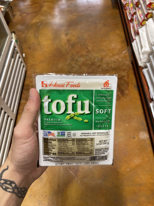 House Food Tofu Soft, 14oz - Eastside Asian Market