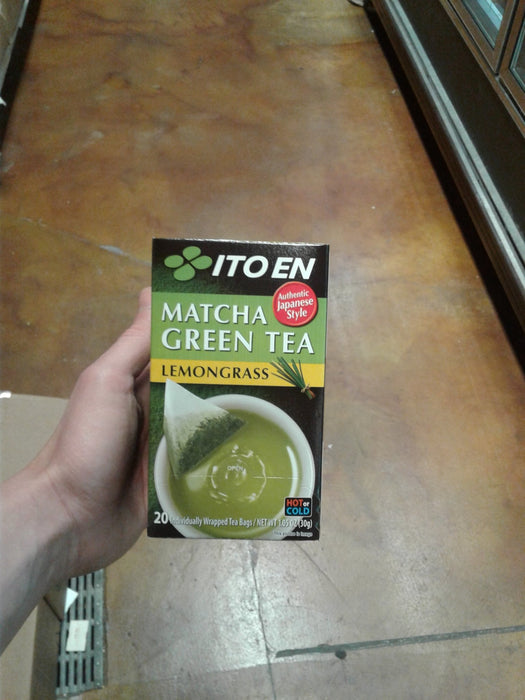 Itoen Green Tea Lemongrass - Eastside Asian Market