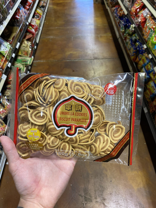 Jiu Fu Umbrella Cookie - Eastside Asian Market
