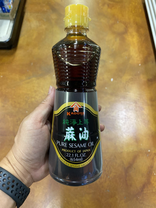 Kadoya Sesame Oil, 22oz - Eastside Asian Market