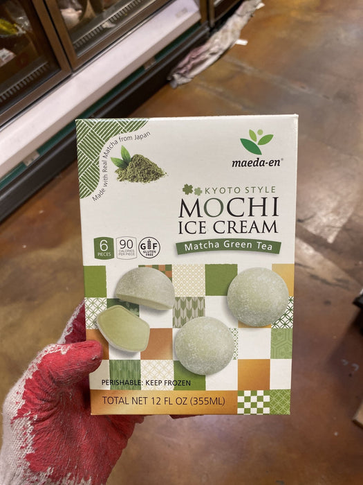 Maeda Mochi Ice Grn Tea Bar - Eastside Asian Market