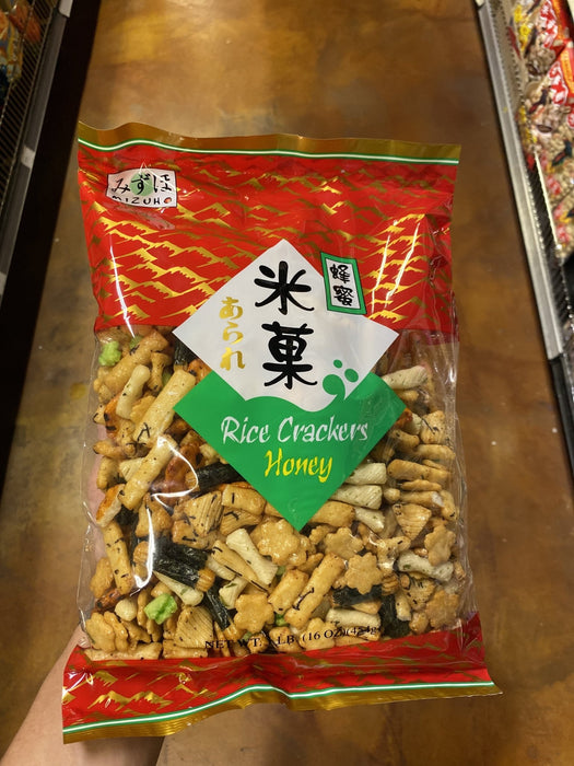 Mizuho Rice Cracker - Honey - Eastside Asian Market