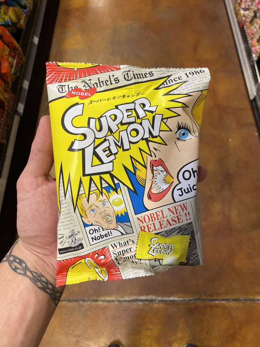 Nobel Super Lemon Candy - Eastside Asian Market